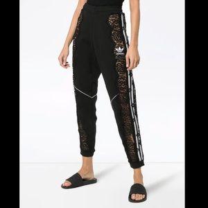 RARE Stella McCartney x Adidas lace insert sweatpants L
